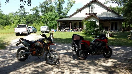 Two fine bikes
